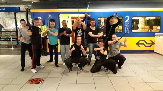 Warrior Workshop: Training op het NS hoofdkantoor in Utrecht